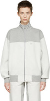 adidas Originals by Alexander Wang Grey Inout Zip-Up Track Jacket