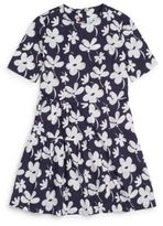 Marni Little Girl's & Girl's Floral-Print Cotton Dress
