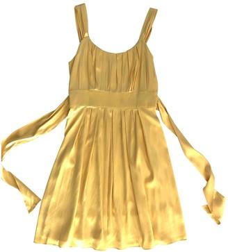 Joseph Yellow Silk Dress for Women