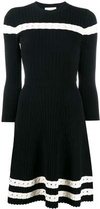 Alexander McQueen knitted skater dress