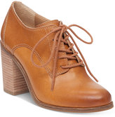 Lucky Brand Women's Maisie Lace-Up Block-Heel Oxford Shooties