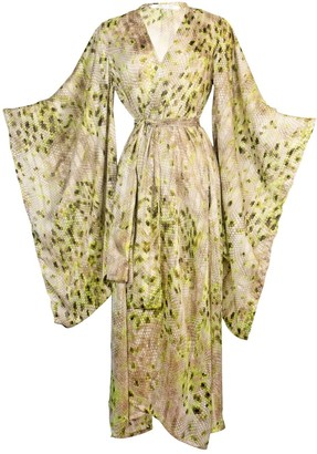 Jennafer Grace Lotus Dragon Kimono