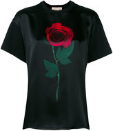 Christopher Kane 'Beauty and the Beat' T-shirt - women - Silk/Cotton - M