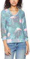 Wildfox Couture Wild Fox Women's Miami Palms Sweater,(Manufacturer Size:Small)