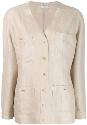 Chanel Pre Owned 1980's Four Pocket Jacket