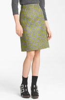 Marc Jacobs Popcorn Tweed Pencil Skirt