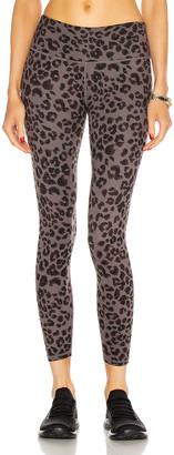 "Varley Century 25"" Legging in Iron Grey Cheetah | FWRD"
