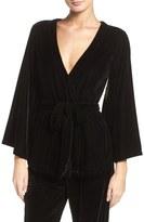 Felina Radiant Velvet Kimono Top