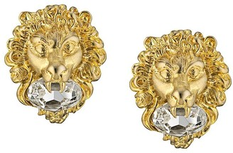 Gucci Lion Head Earrings