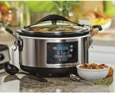 Hamilton Beach 6-Qt. Stay or Go Set and Forget Programmable Slow Cooker