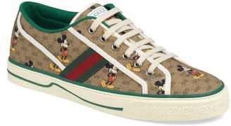 Gucci x Disney 1977 GG Print Tennis Sneaker