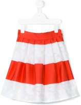 Dondup Kids - striped skater skirt - kids - Polyester - 6 yrs