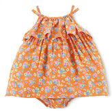 Ralph Lauren Baby Girls Floral Printed Dress & Bloomer Set