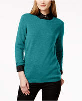 heather blue sweater - ShopStyle