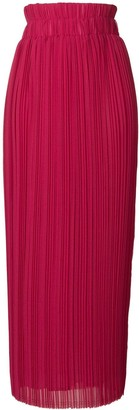 P.A.R.O.S.H. Pleated Maxi Skirt