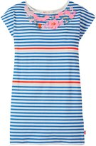 Billieblush Striped Jersey Dress (Kid) - Bleu Marin-5 Years