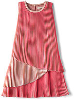 Stella McCartney Sasha Girls Layered Dress in Pink. - size 2Y (also in )