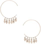 Luv Aj Marquise Swing Through Hoops Earrings