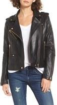Blank NYC BLANKNYC Leather Moto Jacket