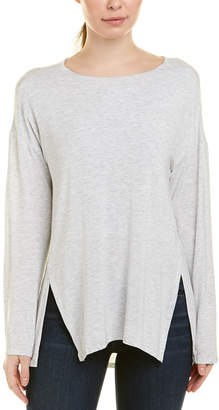 Heather H By Bordeaux Slouchy Slit Top