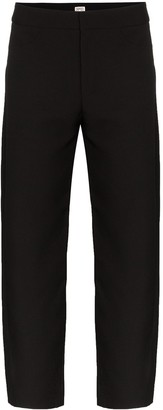Totême High-Waisted Cropped Trousers