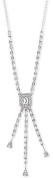 "Effy Diamond 16"" Lariat Necklace (1-1/10 ct. t.w.) in 14k White Gold"