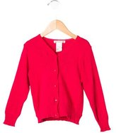 Bonpoint Girls' Cherry Long Sleeve Cardigan
