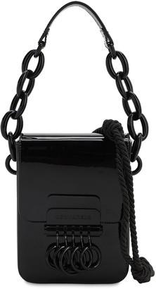 DSQUARED2 Key Patent Leather Shoulder Bag