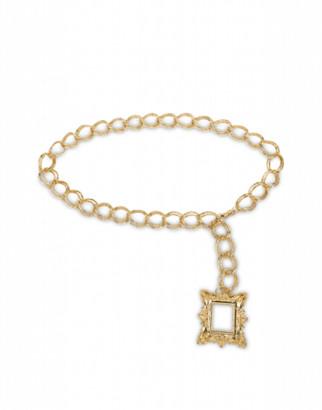 Moschino Chain Belt Woman Gold Size U It - (one Size Us)