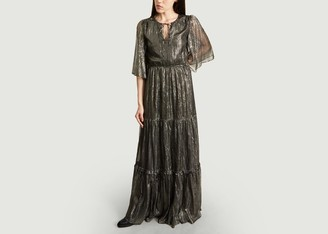 Tara Jarmon Lurex Maxi Dress - 36