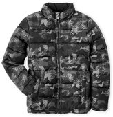 Puma Boys 8-20) Digital Camouflage Puffer Jacket