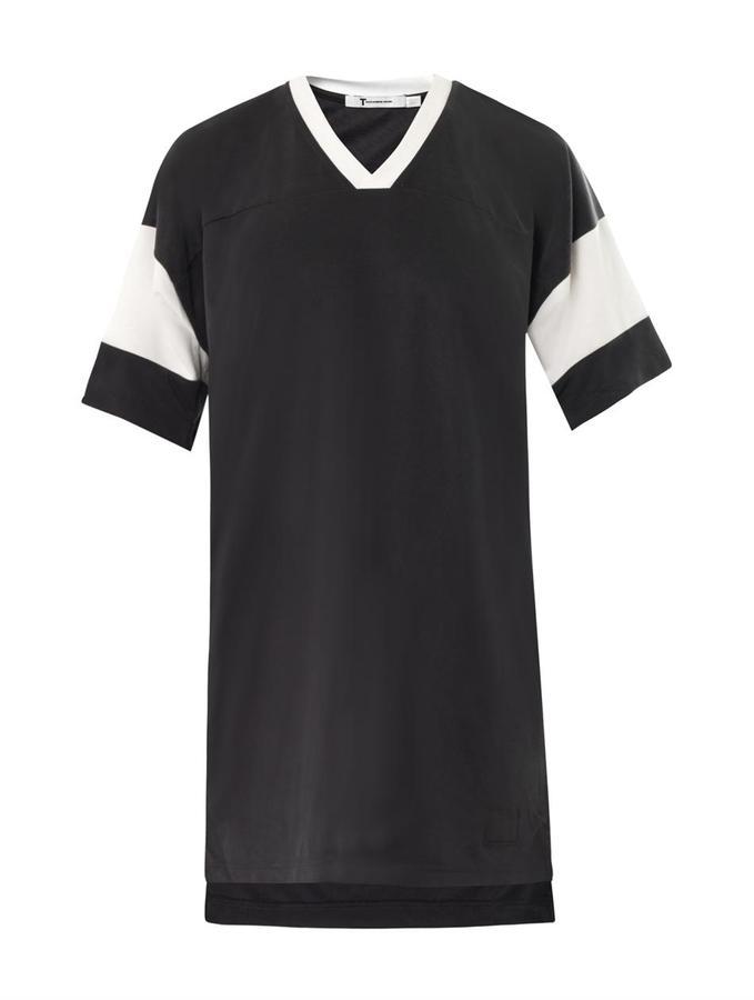 Alexander Wang Football T-shirt dress
