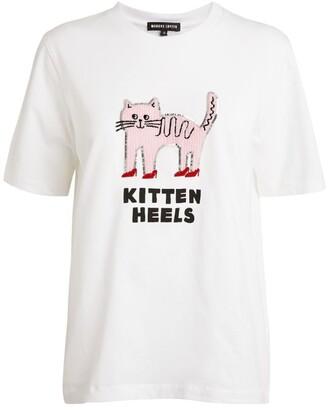 Markus Lupfer Kitten Heels Alex T-Shirt