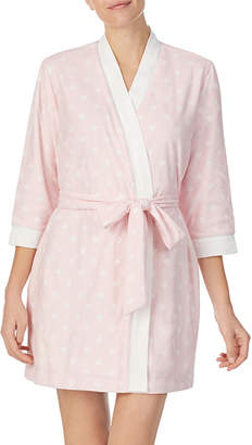 Kate Spade terri diamond-pattern robe