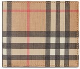 Burberry Vintage Check International bifold coin wallet