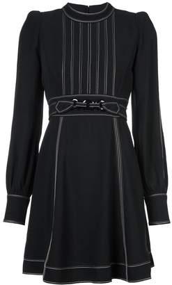 Marc Jacobs structured shoulder day dress