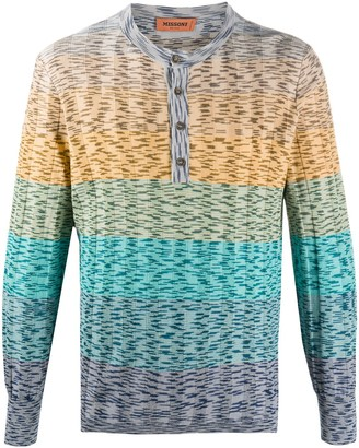 Missoni Colour-Block Cotton Sweatshirt