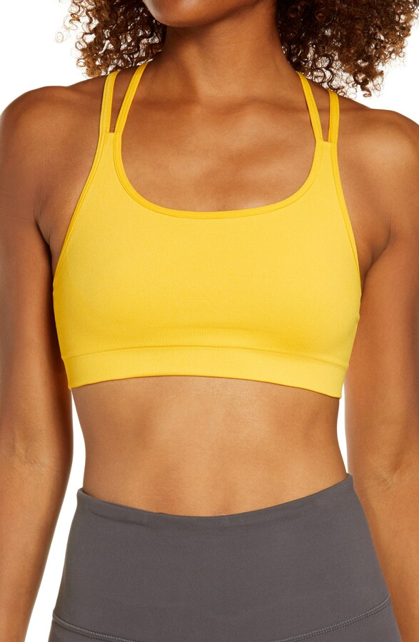 Thumbnail for your product : Zella Seamless Strappy Sports Bra