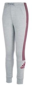 adidas Big Girls Badge of Sport Fleece Jogger Pants