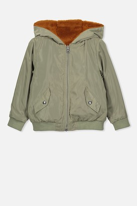 Cotton On Annie Reversible Bomber Jacket