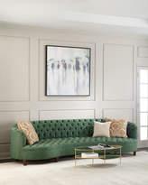 Haute House Vaughn Tufted Velvet Sofa