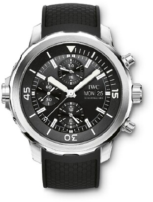 IWC SCHAFFHAUSEN Stainless Steel Aquatimer Chronograph Watch 44mm