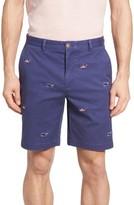 Vineyard Vines Men's Breaker 9-Inch Whale Flag Embroidered Shorts