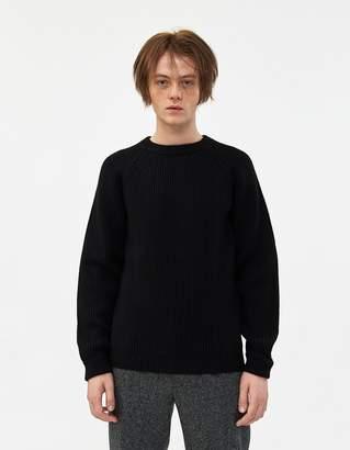 Beams Rib Crew 5G Sweater