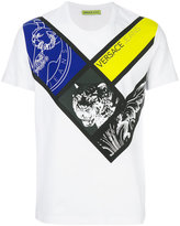 Versace printed T-shirt - men - Cotton/Spandex/Elastane - M