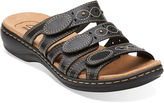 Clarks Leisa Cacti Womens Open-Toe Leather Sandals