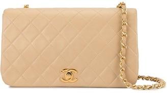 Chanel Pre Owned Full Flap Chain Shoulder Bag
