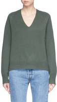 Vince V-neck raglan sleeve cashmere sweater