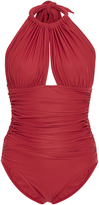 Lenny Niemeyer Ruched One Piece Swimsuit