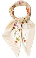 Nina Ricci Silk Floral Printed Scarf